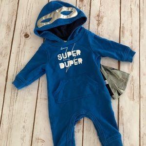 Super Dude ⚡️ Caped Outfit! Newborn